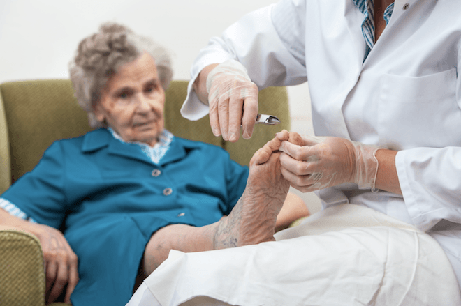 ageing foot health